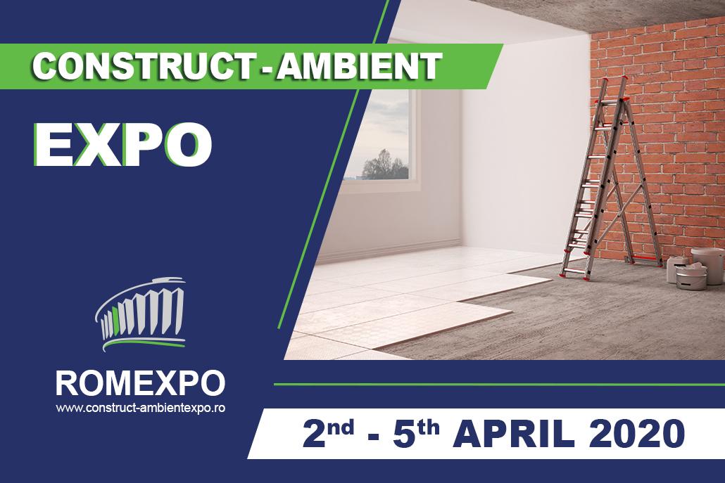 Construct Ambient Expo 2-5 aprilie la Romexpo