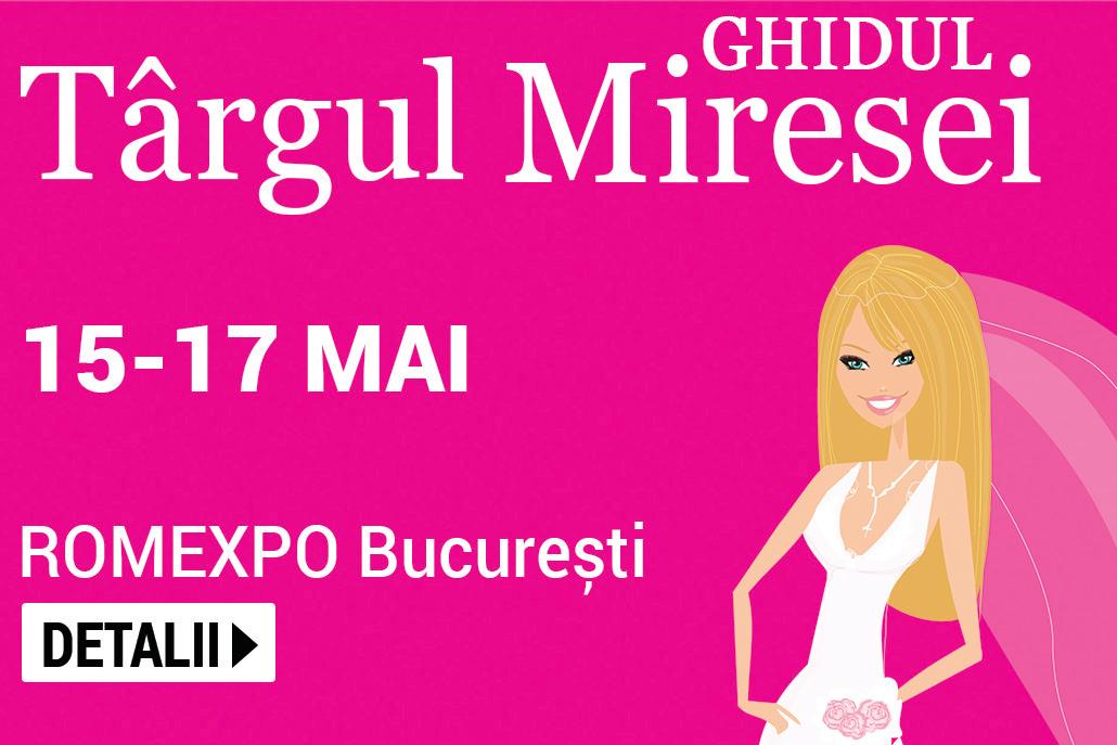 TARGUL GHIDUL MIRESEI 15-17 mai 2020